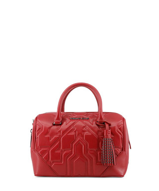 Bright red patent embossed grab bag Sale - Versace Jeans Sale 744dbfcc7ea1d