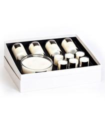 11pc Lavender Veil boxed candle set