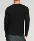 Grey cotton blend long sleeve T-shirt Sale - kuegou Sale