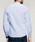 Blue pure cotton shirt Sale - kuegou Sale