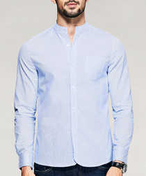 Blue pure cotton shirt