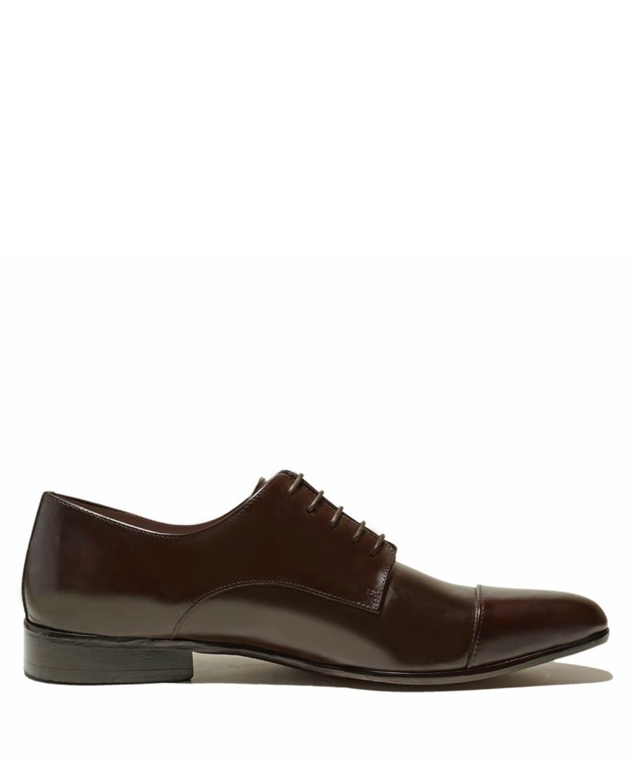 Bryce dark brown patent leather shoes Sale - Thomas Blake