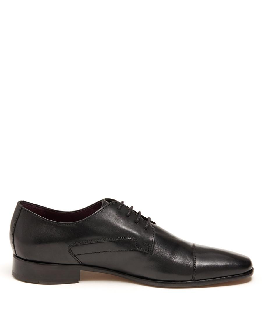 Garcia black leather lace-up shoes  Sale - Thomas Blake