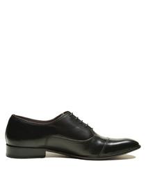 Ashton black leather lace-up shoes
