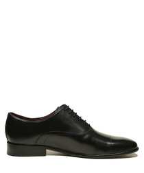 Bart black leather shoes