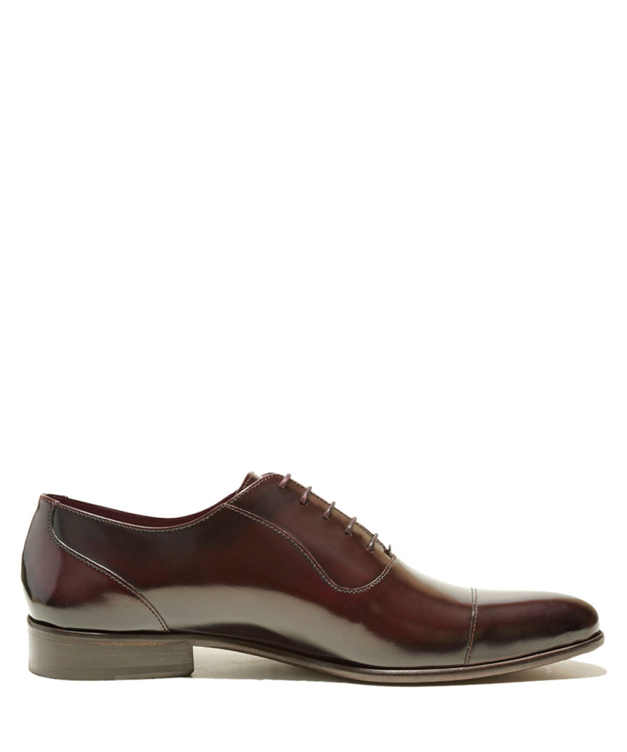 Presley dark red patent leather shoes Sale - Thomas Blake