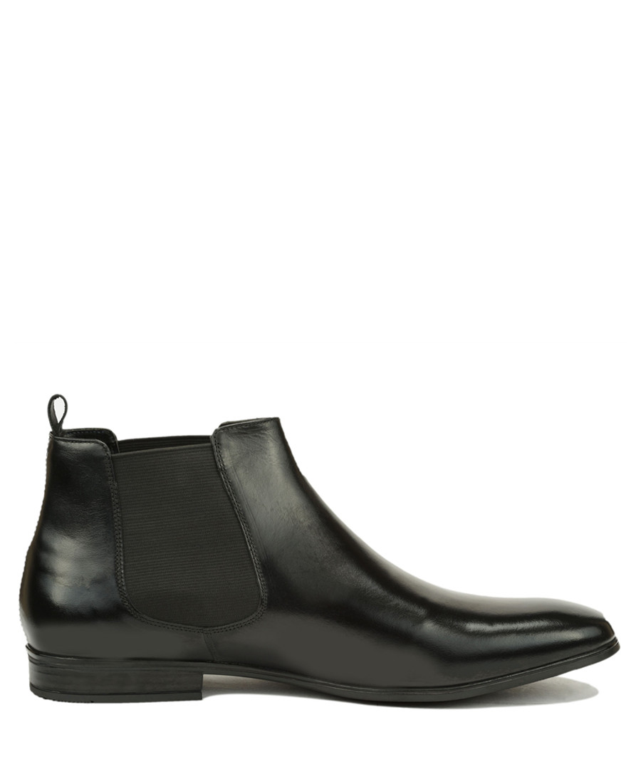 Raimondo black leather ankle boots Sale - Roberto Renzo