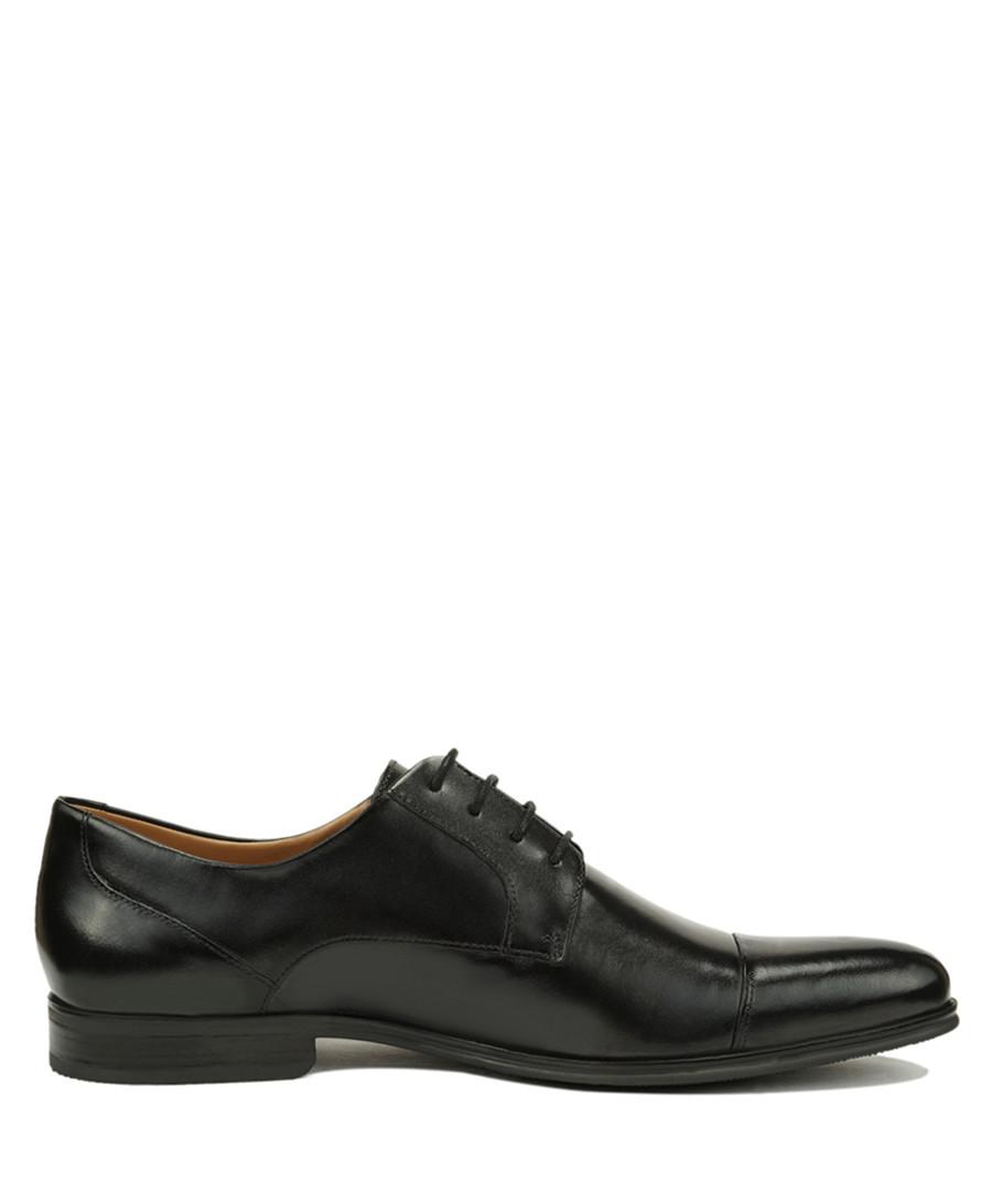Renaldo black leather lace-up shoes Sale - Roberto Renzo