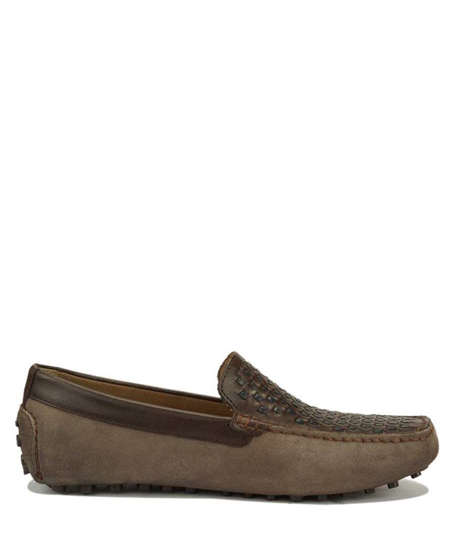 Orso taupe suede loafers  Sale - Roberto Renzo