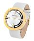 Bristol grey & gold-tone leather watch Sale - montgomery Sale