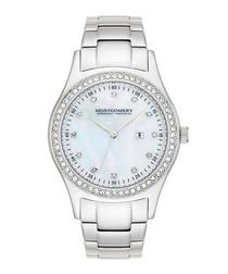 St. Ives Lady sky blue crystal watch