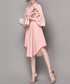 Pink embroidered tie waist dress Sale - Zeraco Sale