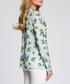 Light blue bird print blouse Sale - made of emotion Sale