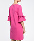 Fuchsia cotton blend flared sleeve dress Sale - made of emotion Sale