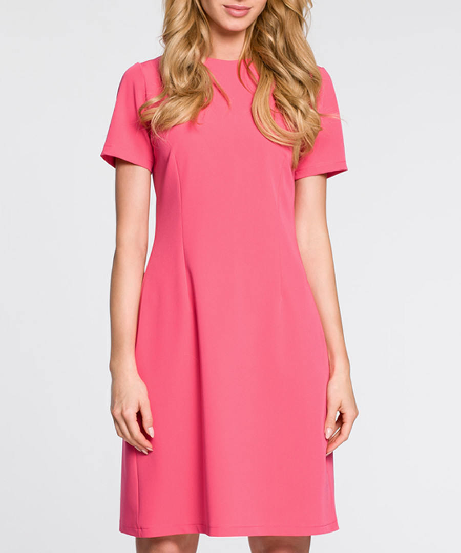 Pink short sleeve dress Sale - made of emotion