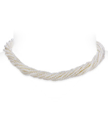 0.2cm fresh water pearl layered necklace