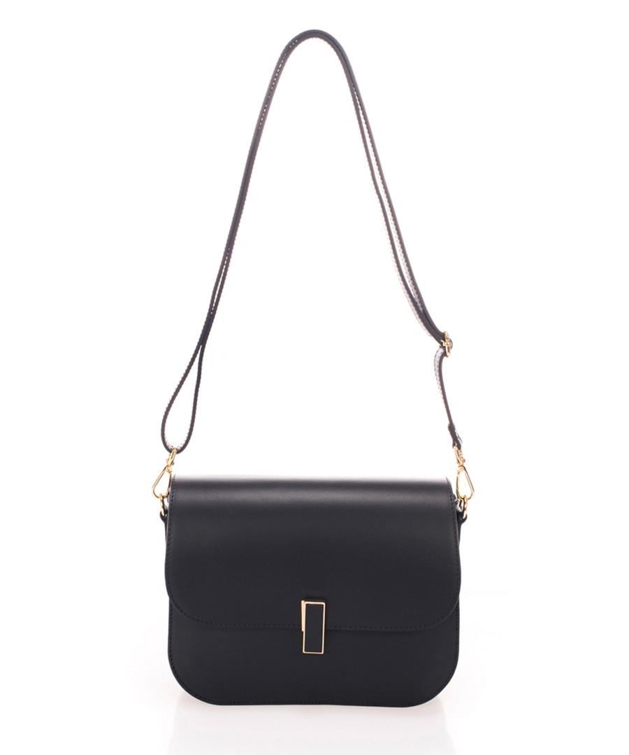 Black leather crossbody bag  Sale - zoe & noe