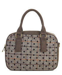 Austin brown & orange polka grab bag