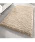Beige shaggy pile rug 160 x 230cm Sale - Funky Buys Sale