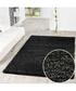 Charcoal shaggy pile rug 200 x 290cm Sale - Funky Buys Sale