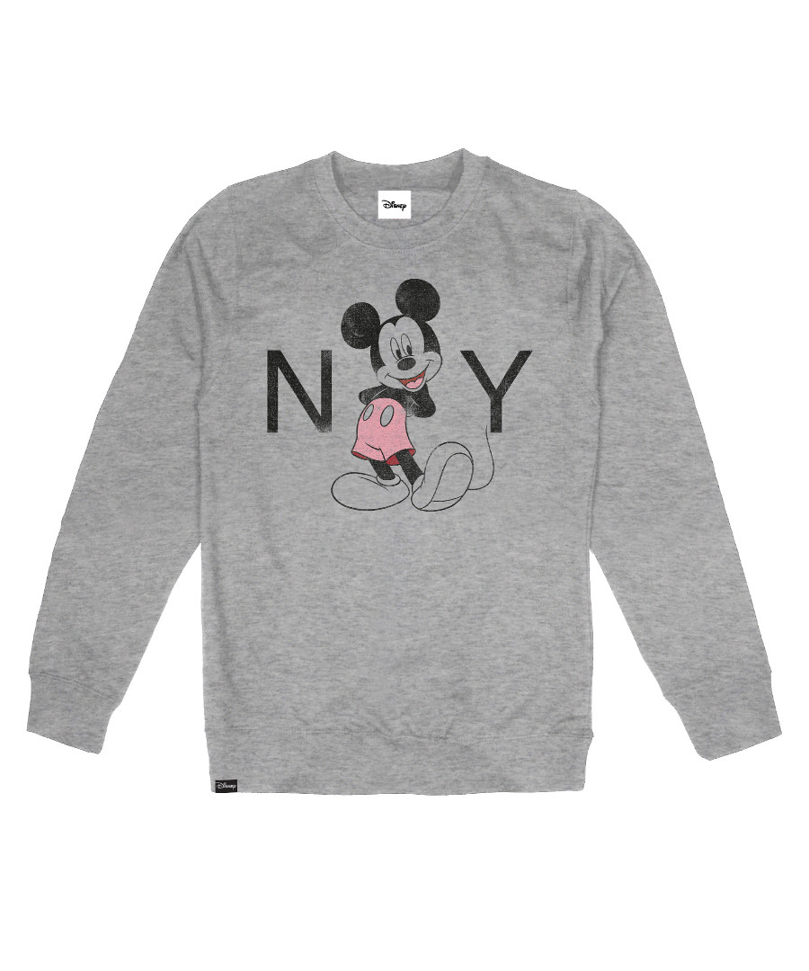 Women's Mickey NY grey jumper Sale - disney
