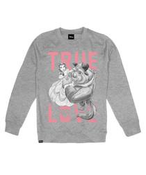 Women's True Love grey jumper
