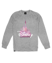 Disney grey cotton blend jumper