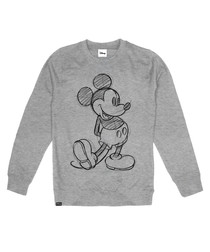 Mickey Mouse grey cotton blend jumper