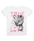 True Love Dancing white cotton T-shirt Sale - Disney Sale