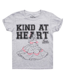 Kind At Heart grey cotton blend T-shirt