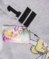 LA grey cotton blend Tinkerbell jumper  Sale - disney Sale