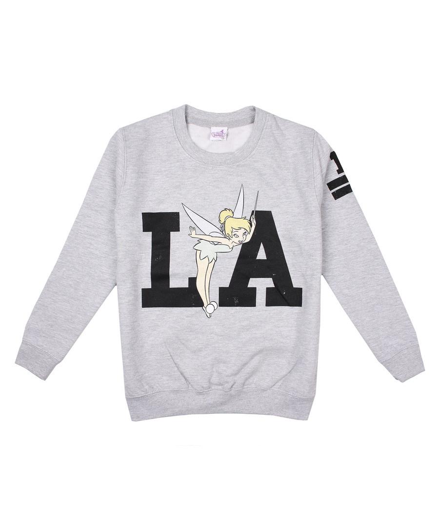 LA grey cotton blend Tinkerbell jumper  Sale - disney