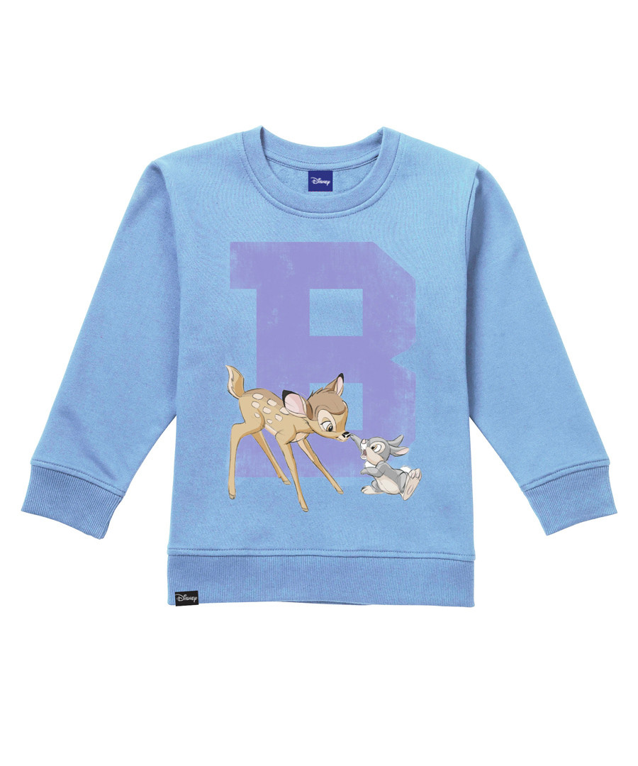 Girls' Bambi sky blue jumper Sale - disney