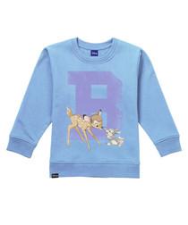 Bambi College blue cotton blend jumper
