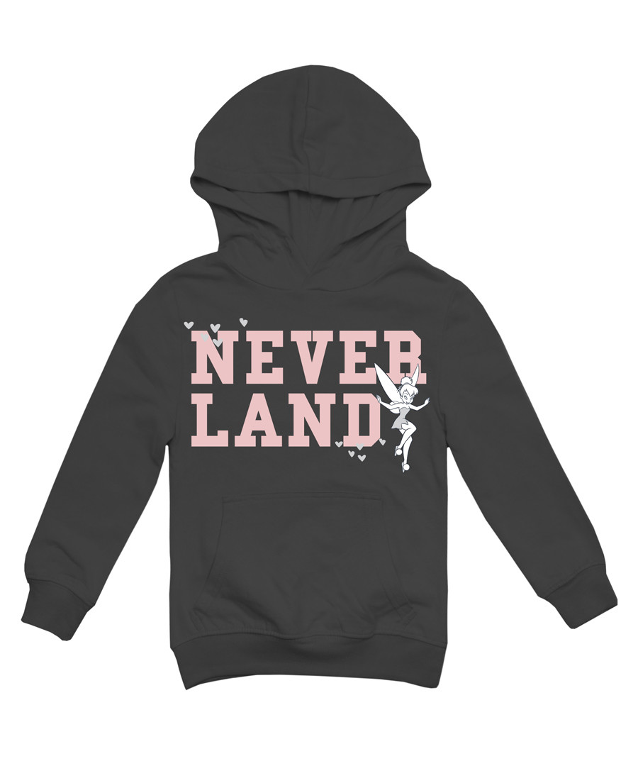 Girls' Neverland dark grey hoodie Sale - Disney