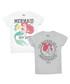2pc Girls' Mermaid cotton T-shirt set Sale - disney Sale