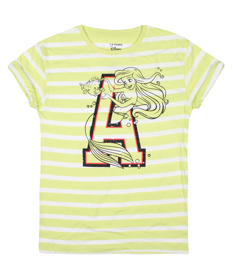 Girls' The Little Mermaid lime T-shirt Sale - disney