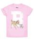 Girls' Bambi pink cotton T-shirt Sale - Disney Sale