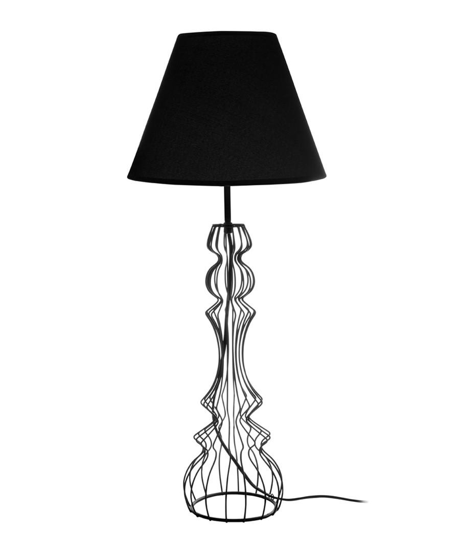 Chicago black wire base table lamp Sale - Premier