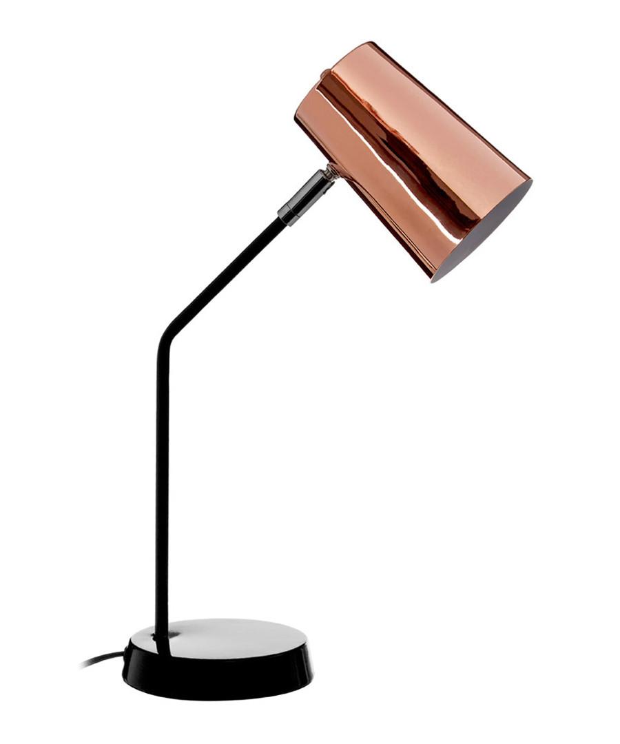 Bart copper-tone & black table lamp  Sale - premier