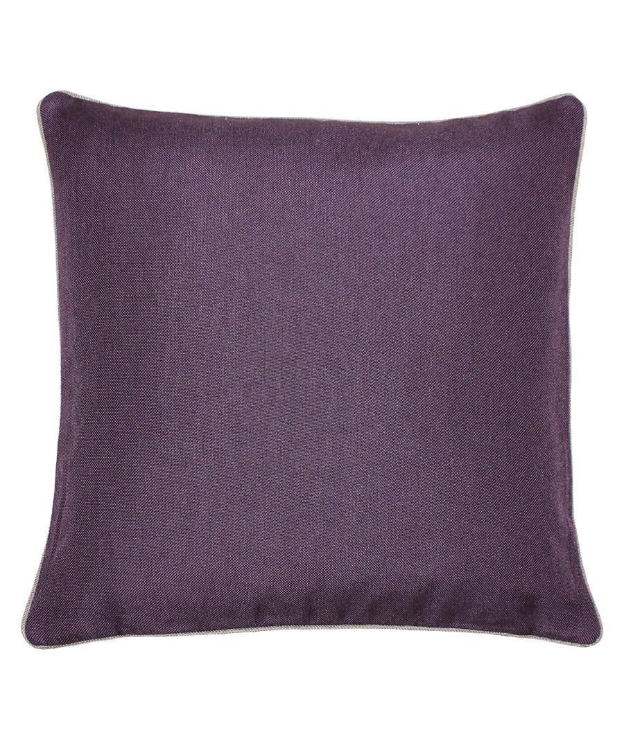Bellucci damson velvet cushion 45cm Sale - riva paoletti