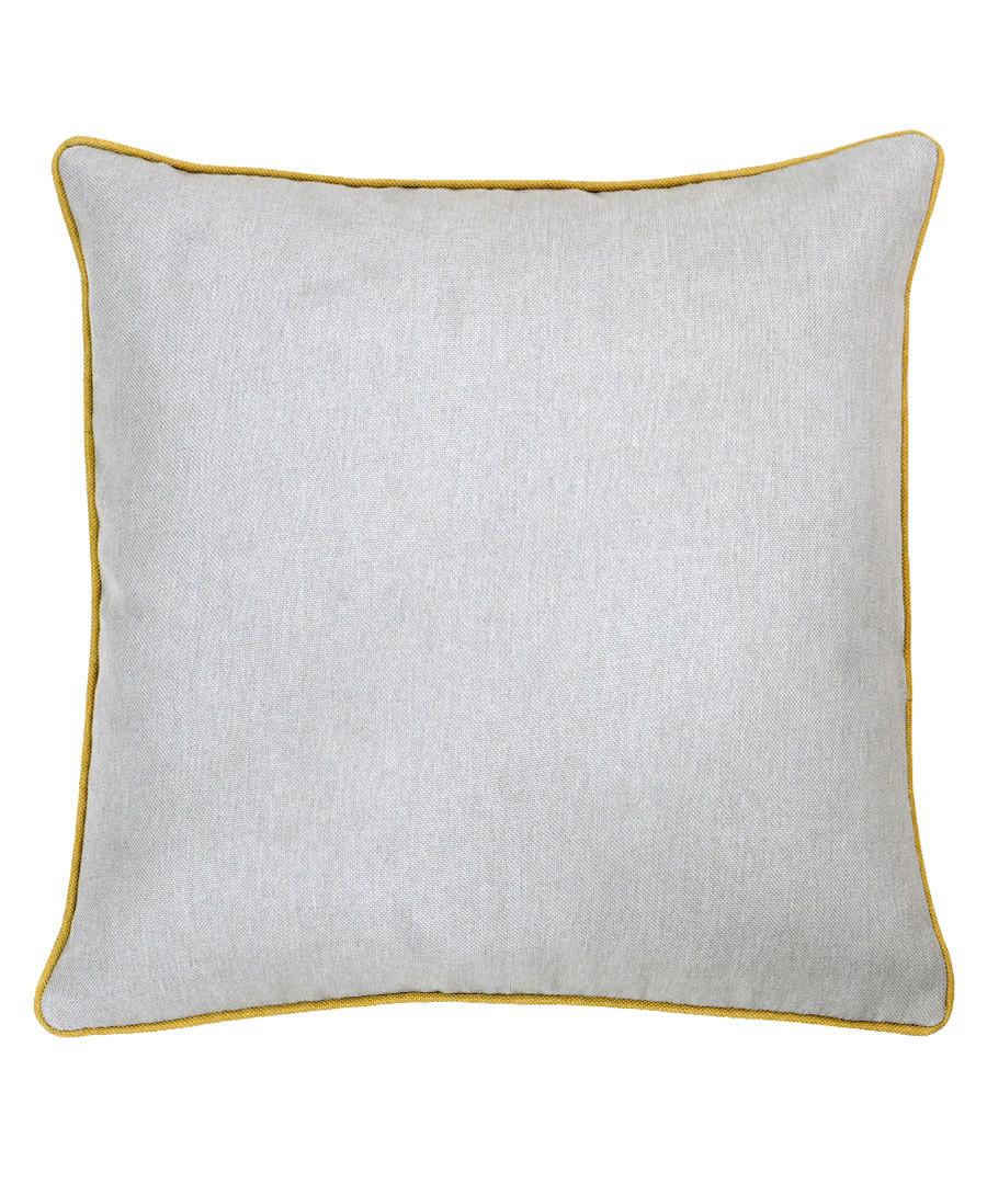 Bellucci grey velvet cushion 45cm Sale - riva paoletti