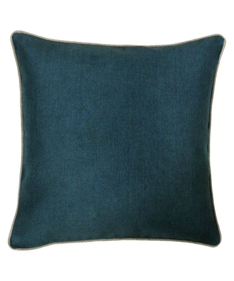 Bellucci petrol textured cushion 45cm Sale - riva paoletti