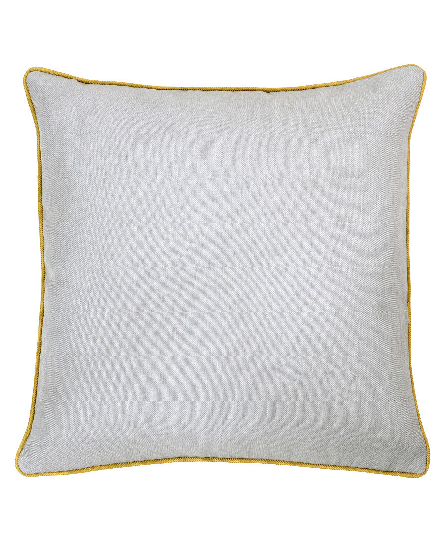 Bellucci grey velvet cushion 55cm Sale - riva paoletti