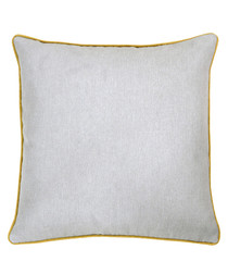 Bellucci grey velvet cushion 55cm