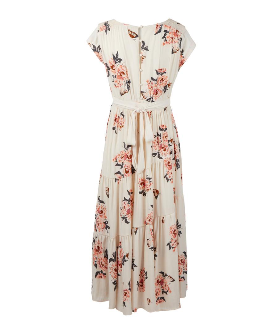 6a4fad0e19f ... All I Got ivory floral maxi dress Sale - Free People ...