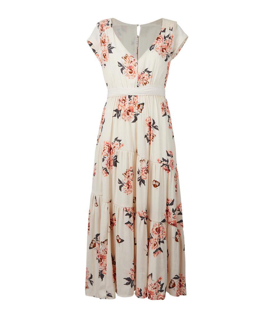 193f002840a All I Got ivory floral maxi dress Sale - Free People ...