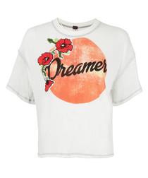 Dreamer ivory short sleeve T-shirt