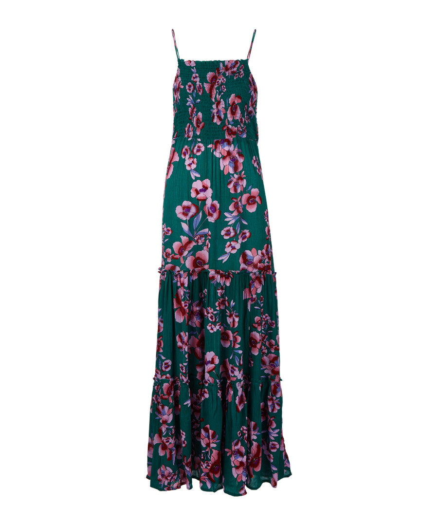473bdcb50ed Garden Party turquoise floral maxi dress Sale - Free People ...