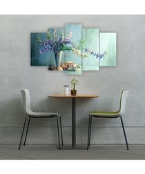 5pc Vase wall art